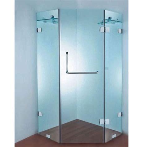 shower screen corner bath frameless corner shower screen y01b 900