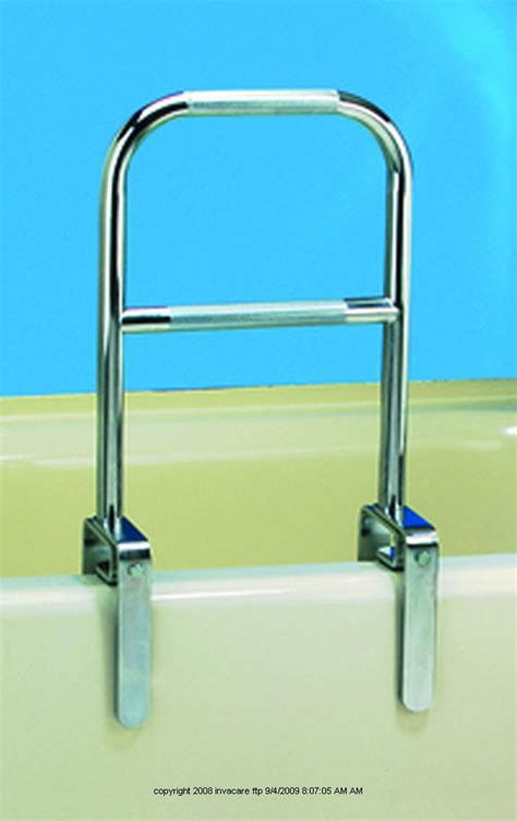 dual level bathtub rail bathtub rail dual level