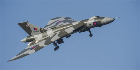 Boomber Voolcon stunning footage of vulcan bomber farewell tour captured by helicopter huffpost uk