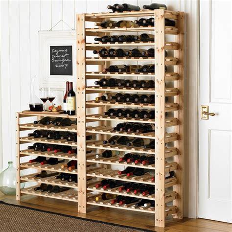 Williams Sonoma Wine Rack swedish wood shelving wine racks williams sonoma