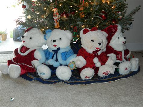 collections of christmas teddy bear ornaments easy diy