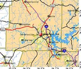 untitled cartersville ga maps