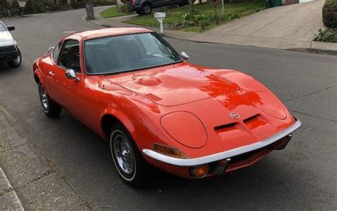 1972 opel gt corvette alternative 1972 opel gt