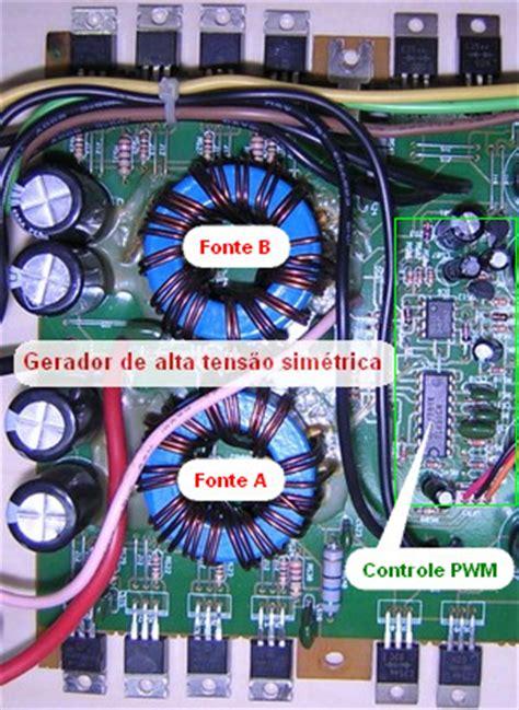 Conserto De M 243 Dulo De Pot 234 Ncia Som Automotivo Pyramid Pb800 Gx
