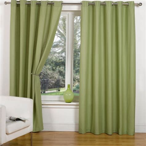 canvas curtain canvas eyelet curtains 45 quot width x 54 quot drop leaf buy