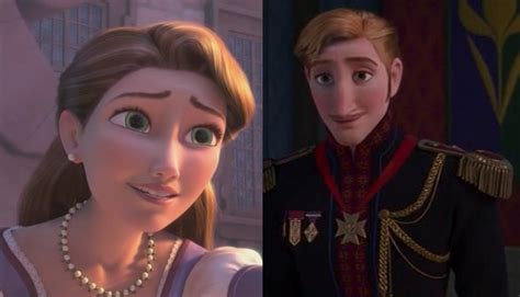 film theory anna elsa not sisters is rapunzel elsa s cousin and how else are frozen and