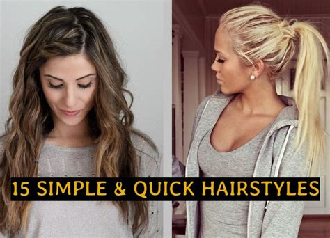 easy hairstyles for everyday of the week hairstyles for everyday of the week hairstyles