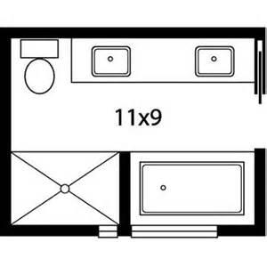 Bathroom Floor Plans With Shower And Tub Master Bath Floor Plans
