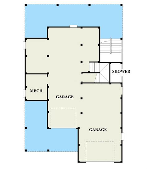 master up floor plans coastal cottage with master up 15069nc 2nd floor master suite cad available cottage