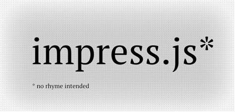 几个秒杀ppt的高 Zhe 大 Teng 上 Ren 的幻灯工具 简书 Impress Js Templates
