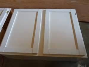 Flat Kitchen Cabinet Doors Makeover Upcycled Shaker Panel Cabinet Doors Great For Flat Panel Cabinet Doors In Many Homes