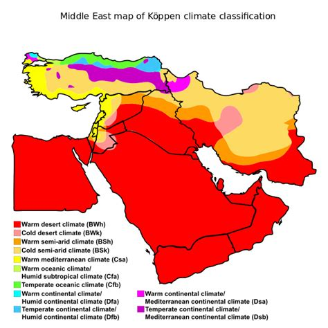 middle east vegetation map climate change i will the middle east become