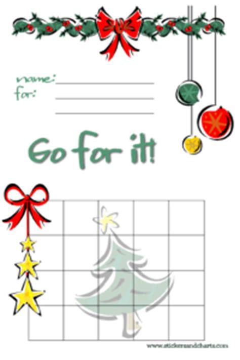 printable christmas reward charts free printable christmas sticker charts christmas st