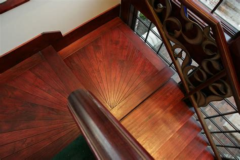 Custom Wood Staircases Gallery   SVB Wood Floors in KC