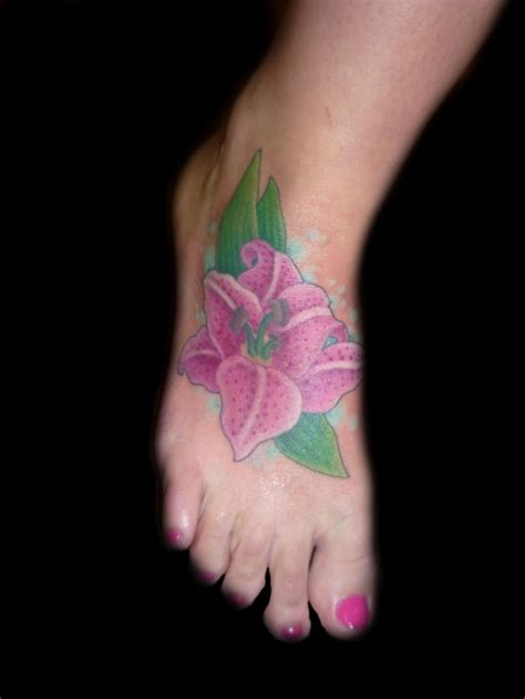 Beautiful Flower Tattoo Designs For Girls And Women Flower Foot Tattoos For 2