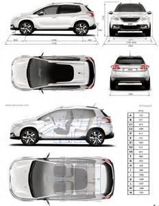 Dimensions Of Peugeot 2008 Peugeot 2008 Fiche Technique Dimensions
