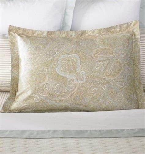 ralph lauren coral beach 1 ralph coral paisley sham pillow shams