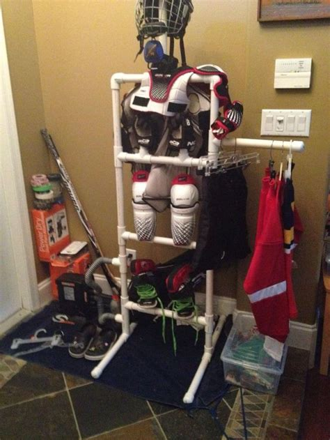 Hockey Equipment Storage Rack by 17 Best Images About Drying Racks For Hockey Equipment On