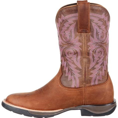 comfortable cowboy boots ladies rocky lt women s comfortable lightweight tan western boot