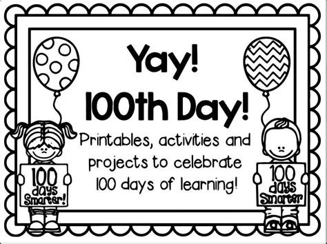 coloring pages school days free printable 100 days of school coloring pages