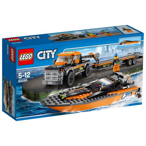 lego city 4x4 with powerboat 60085 163 25 00 hamleys for toys and