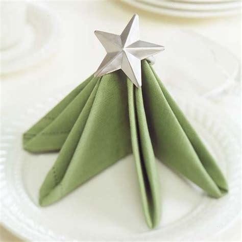 christmas tree napkin folding idea pictures photos and