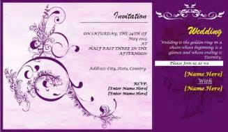 wedding design cards template wedding invitation cards design templates the best
