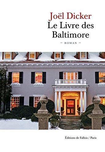 le livre des baltimore le livre des baltimore by ptite boukinette
