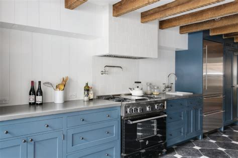 light blue kitchen 40 colorful kitchen cabinets to add a spark to your home