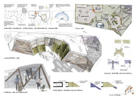 design concept honeycomb flitched design competion entry honeycomb architects