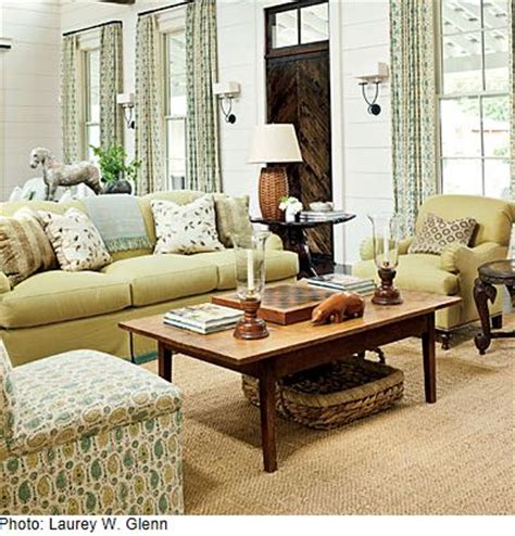 southern living family rooms road trip southern living idea house designed by phoebe