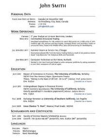 Resume Exles Of Volunteer Experience Sle Resume For High School Student With No Work Experience Cv No Work Experience