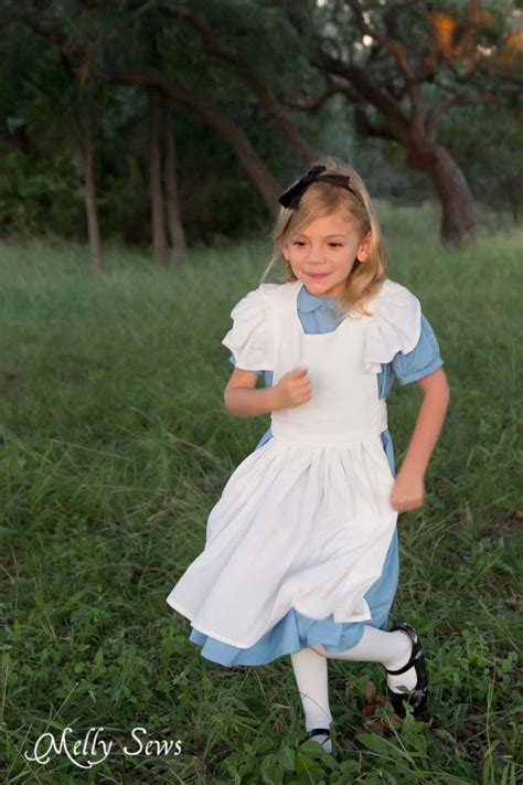 pattern for white rabbit costume alice in wonderland costume melly sews
