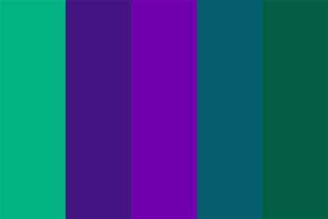 blue green color palette blue green purple color palette