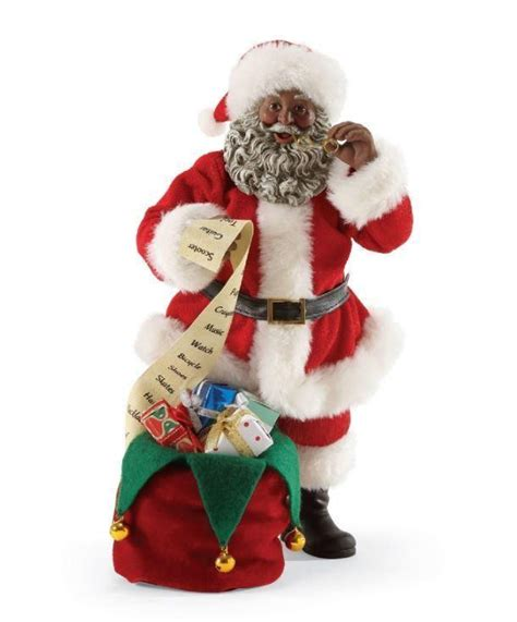 it s a black thang com african american santa claus