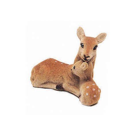 small animal figurines for crafts miniature craft deer figurines