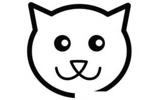 dibujo de un gato facil de dibujar colorear gatos