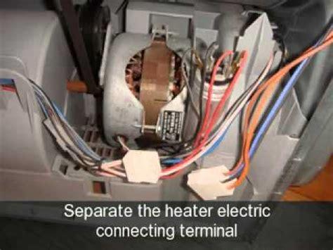 change  heater element   indesit tumble