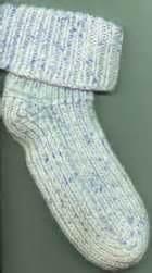 two needle socks pattern two needle sock pattern knitting or crochet pinterest