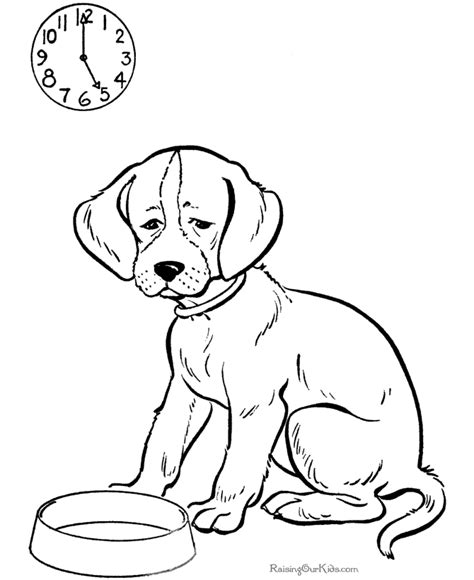 wet dog coloring page 005 printable dog coloring page gif 670 215 820 pixels