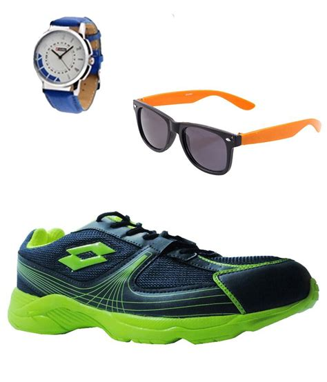 navy blue sports shoes lotto navy blue sports shoes sunglasses and combo