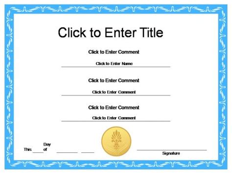 powerpoint award certificate template award certificate templates search results calendar 2015
