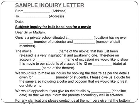 Inquiry Letter For Venue Writing Letters By Ganta Kishore Kumar