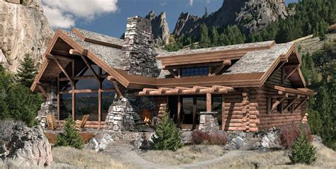 caribou log home floor plan by precision craft customization of floor plans