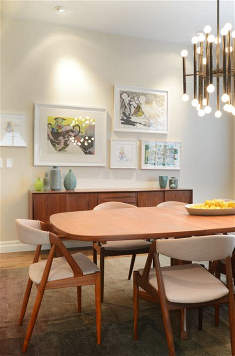 noteworthy mid century dining rooms vintage fans