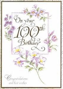 100th birthday card lilbibby