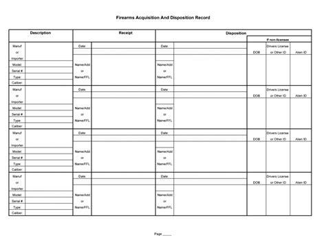 03 C R License Cmp Forums Ffl Bound Book Template