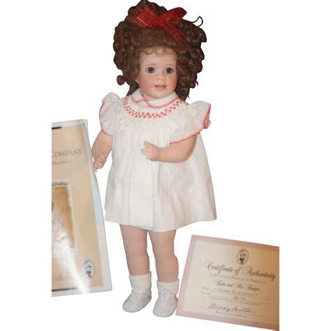 porcelain doll name brands vintage wendy lawton doll porcelain w papers from
