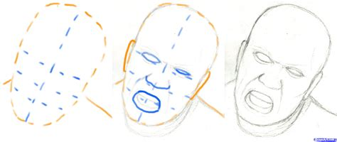 zombie drawing tutorial how to draw a zombie head step by step zombies monsters