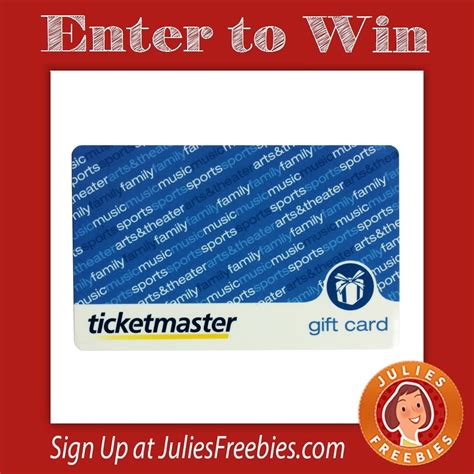 Target Ticketmaster Gift Card - pennzoil 2016 concert sweepstakes julie s freebies